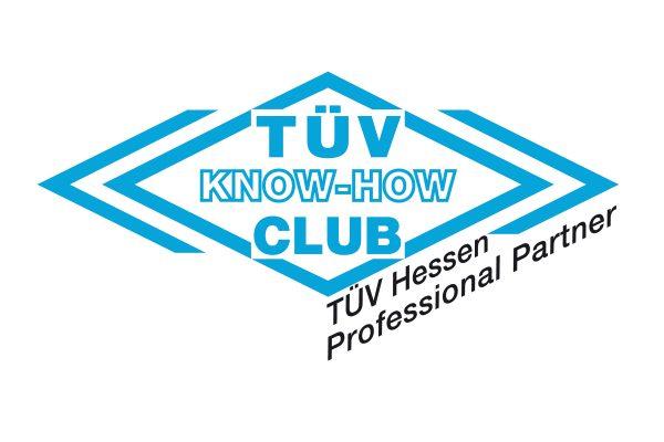Partnerschaft mit dem TÜV Hessen